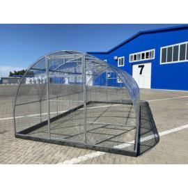 Профилированный поликарбонат для теплиц  0,7мм. 6м