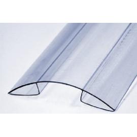Профиль из поликарбоната коньковый RP 8-10мм.  6м