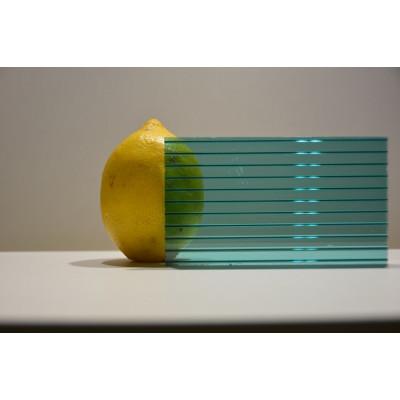 Поликарбонат сот. 4 мм - зелёный 2,1х12м