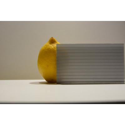 Поликарбонат сот. 4 мм - серебристый 2,1х6м
