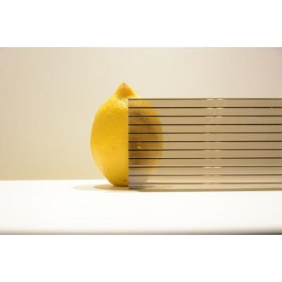 Поликарбонат сот. 4 мм - бронза 2,1х6м