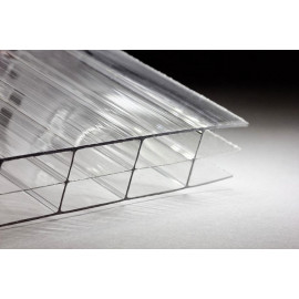 Поликарбонат сот. 16 мм - прозрач 2,1х6м