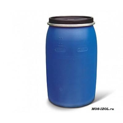 Бочка пластиковая 227 л. с крышкой на обруч.БУ