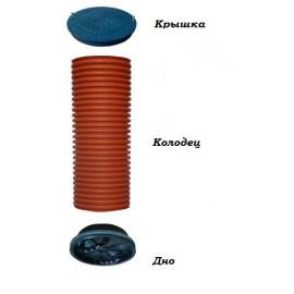 Крышка (люк, дно) ПП для гофротрубы 315 мм,