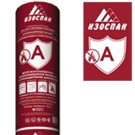 Изоспан А с ОЗД 70м2. Мембрана ветро-влагозащитная с огнезащитными добавками
