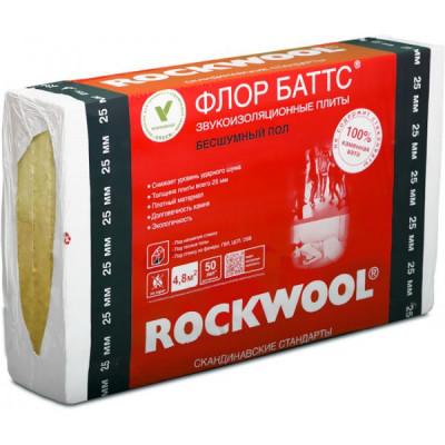 Rockwool Флор Баттс 25мм