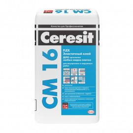 Клей плиточный Ceresit СМ16 25кг