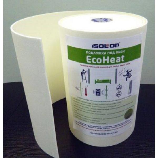 EcoHeat® PREMIUM подложка под обои  5мм